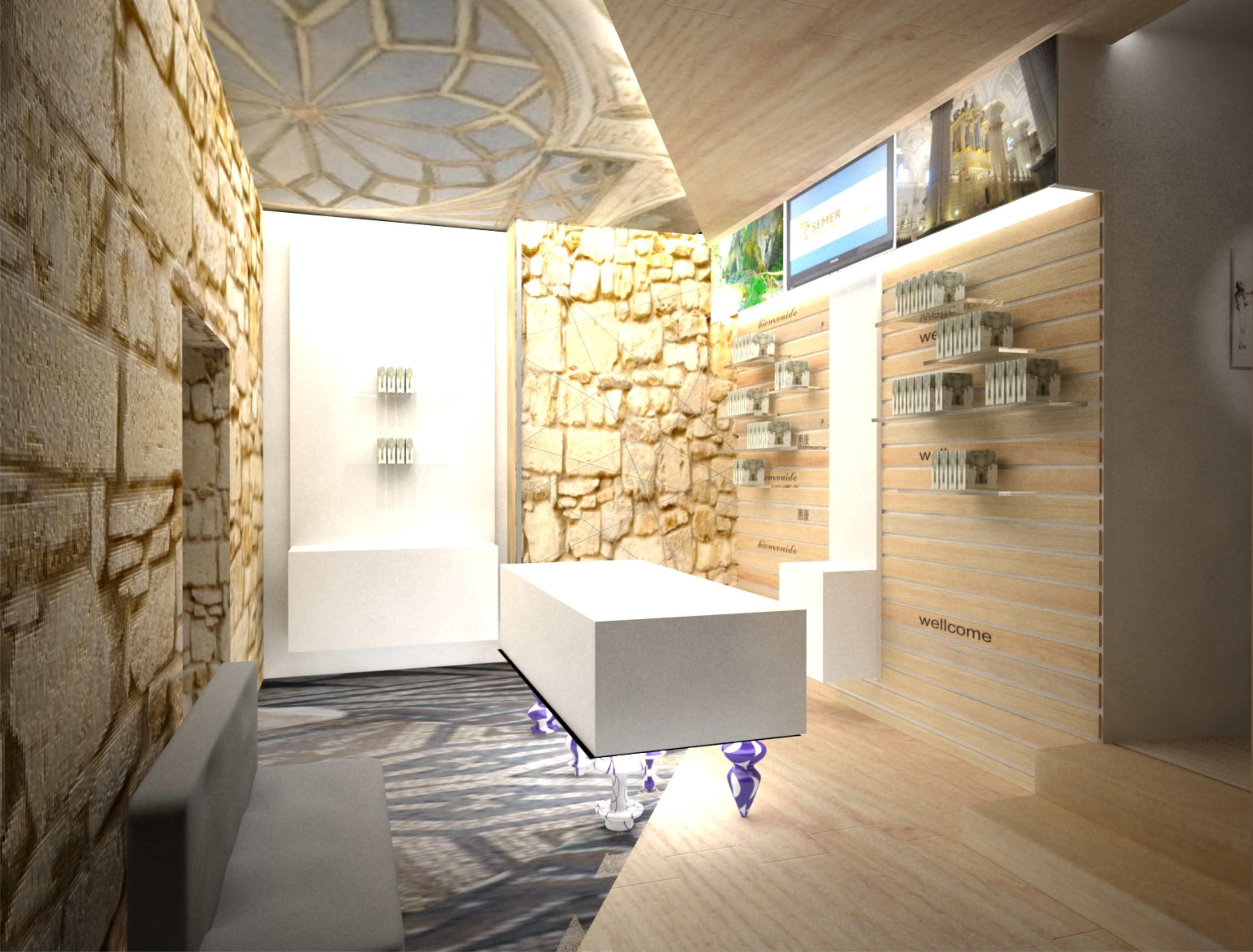 """Próxima apertura de """"Semer Turismo"""" en Úbeda. Diseñado por Trinidad Interiorismo"""