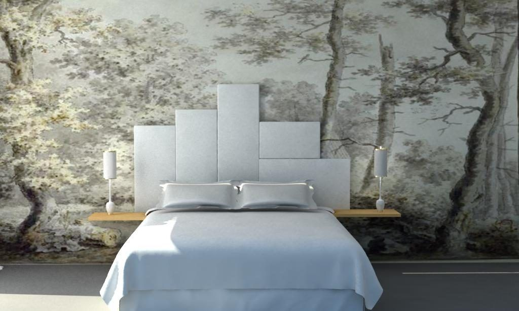 Nuestros papeles pintados our wallpapers interiorismo - Papel pintado paisaje ...