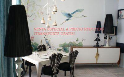 Venta especial de los muebles de nuestro espacio en Casa Decor