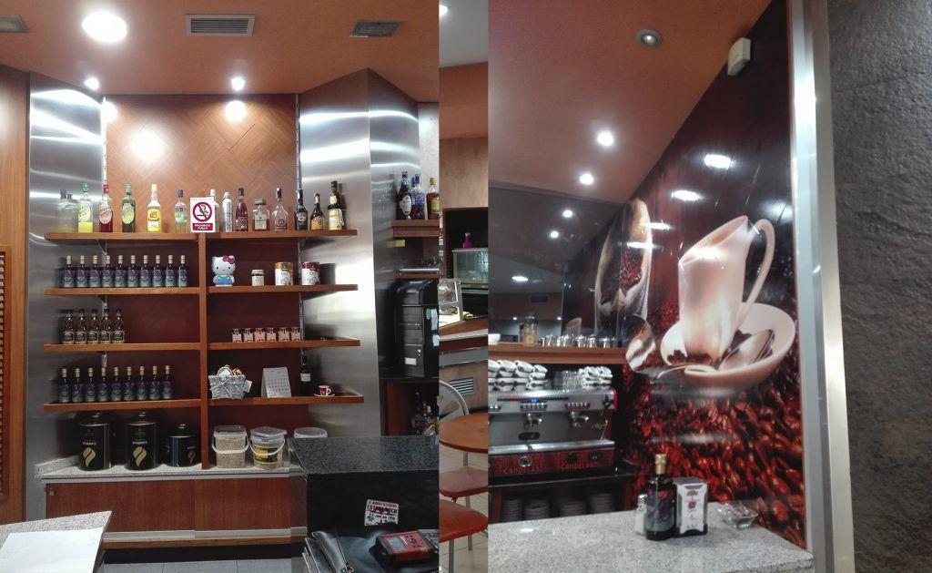 Reforma de cafetería sin obra