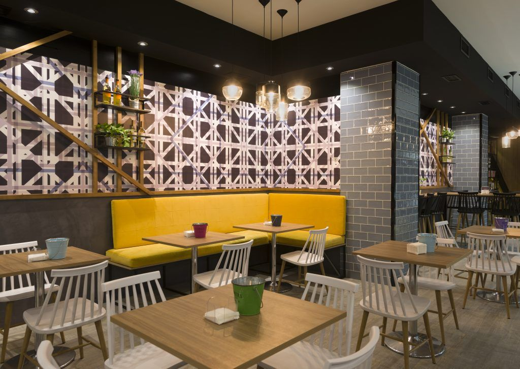 Reforma de local cafeteria sin obra