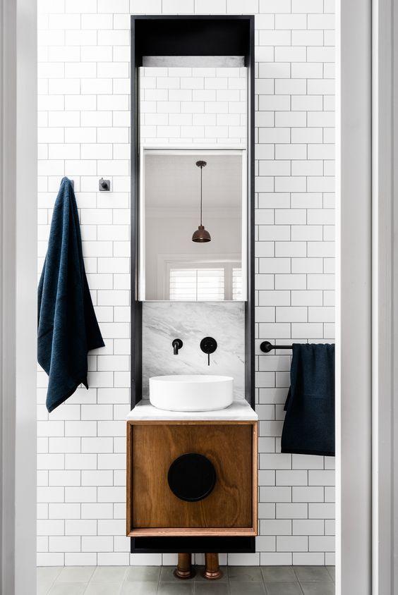 ideas para un baño moderno