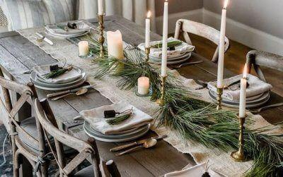 4 tendencias para decorar tu mesa esta Navidad