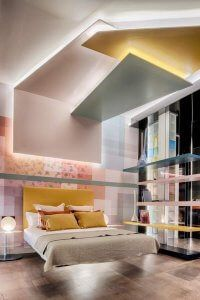 "Dormitorio ""Dream in Colors"" – Espacio Lago - Casa Decor Madrid"