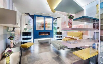 "Dormitorio ""Dream in Colors"" – Espacio Lago – Casa Decor Madrid"